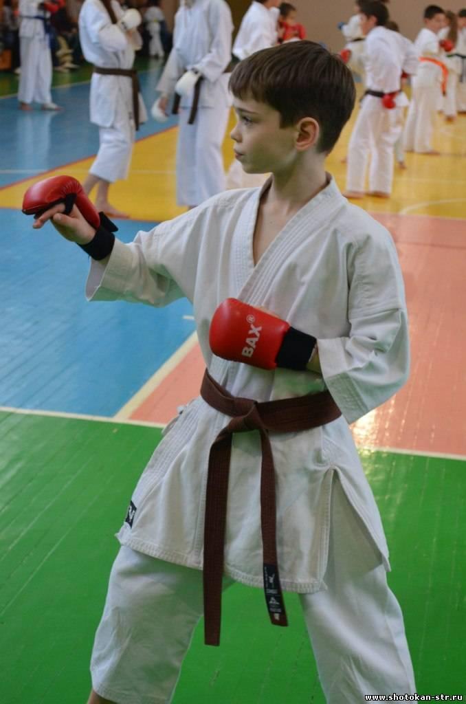 Shotokan karate kumite
